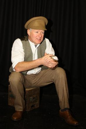 TRIBUTE: Mark Carey is performing his one man play, Into The Breach