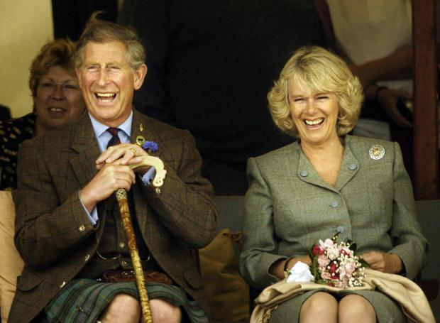 The Prince of Wales and Duchess of Cornwall accepted honorary life membership of the GWSR. Picture by PA   (8080735).