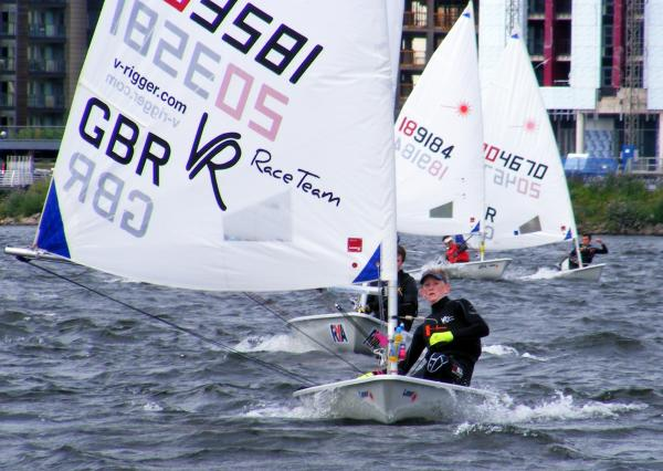 WELSH CHAMPION: Evesham's Edward Higson sailed his Laser to victory at Cardiff Bay. Picture: NIGEL VICK.
