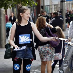 Women For Independence claimed that a Better Together