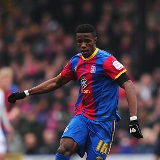 Wilfried Zaha earned a point fo