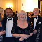 Cotswold Journal: Francine and Adel Makar, consultant urologist with Cherie Taylor and Michael and Margaret Bosson at the urology summer ball