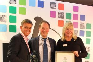 Couple drive off with another business award
