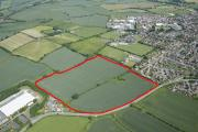 The area of land in Campden Road, Shipston, that has been given the go ahead for a supermarket, housing and extra care retirement development