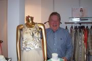 Blockley-based fashion designer George Davies showcases his new range of women's and children's fashions