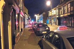 Plea to stop taxis blocking Hereford city centre street