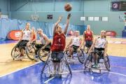 ACTION: Women's wheelchair basketball in full flow
