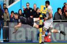 Scintillating Saracens crush title rivals Bath with eight-try demolition
