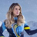 Cotswold Journal: Vogue Williams still on the mend following knee injury received on The Jump