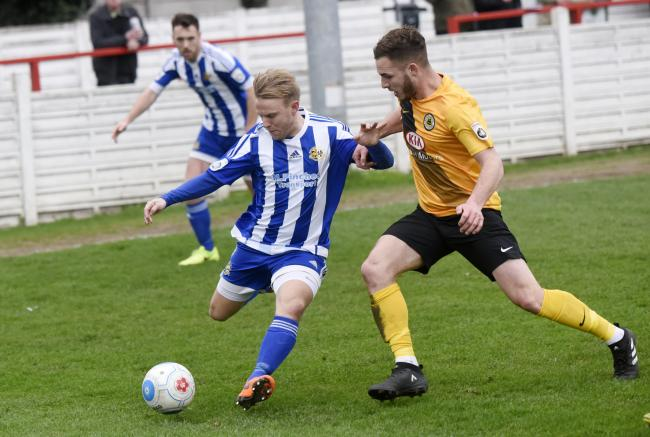 Danny Jackman in action for Worcester City. Picture: DAVID GRIFFITHS