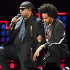 Cotswold Journal: Stevie Wonder 'takes a knee for America' amid Trump and NFL clash (Michael Noble Jr./AP/PA)