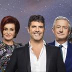 Cotswold Journal: The X Factor's Dermot O'Leary, Sharon Osbourne, Simon Cowell, Louis Walsh and Nicole Scherzinger (Syco/Thames)