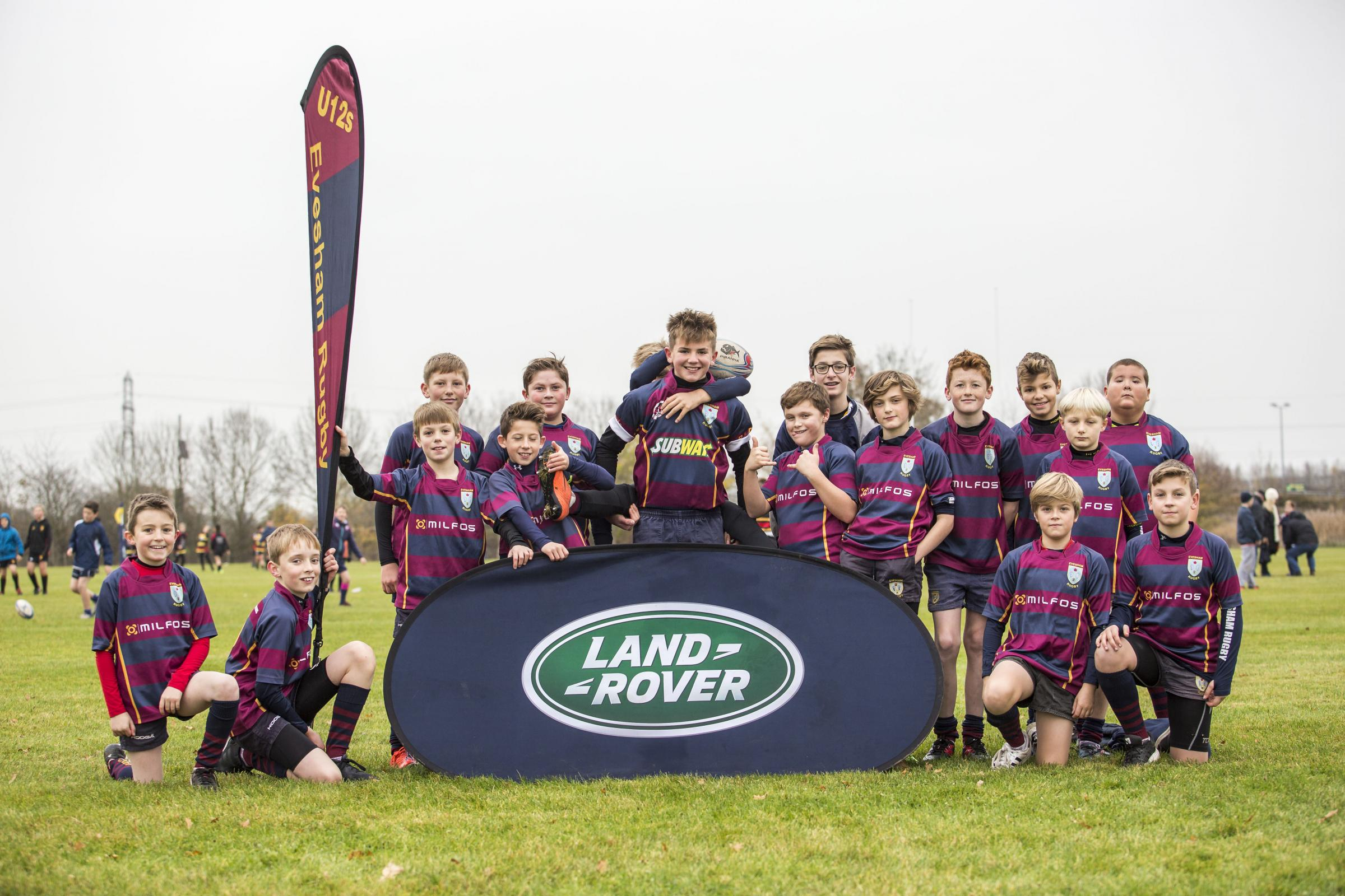 FUTURE STARS: Evesham RFC's under-12s. PICTURE: Sportsbeat/Roberto Payne.