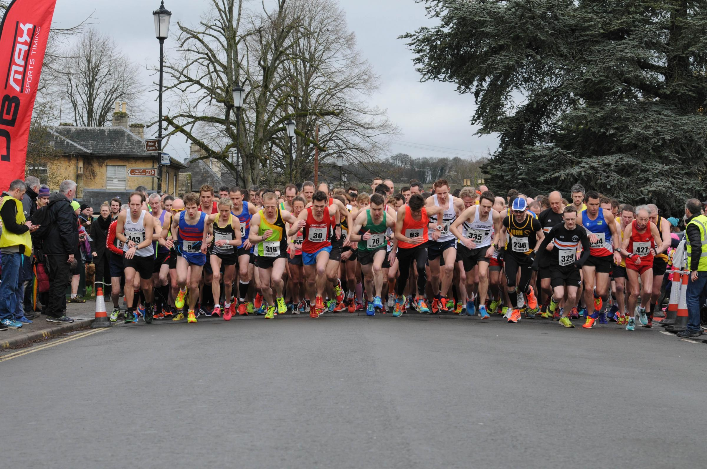 Bourton 10k places gone in 37 seconds