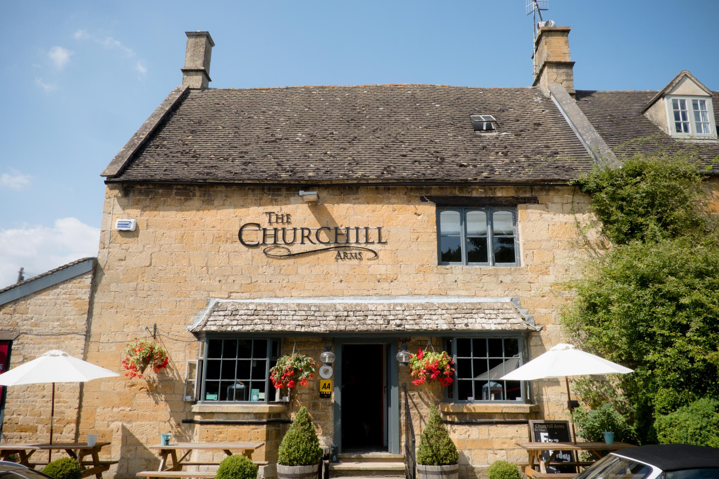 The Churchill Arms, Paxford, Chipping Campden - Charlie Flounders Photography