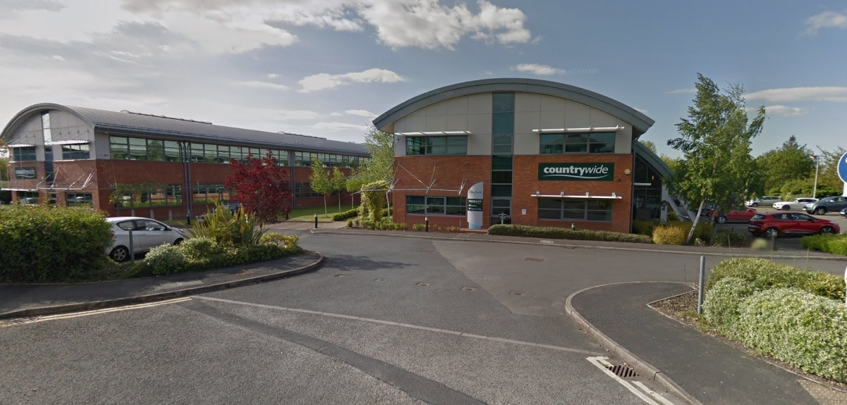 UNCERTAIN FUTURE: Countrywide's Evesham headquarters. Picture: GoogleMaps
