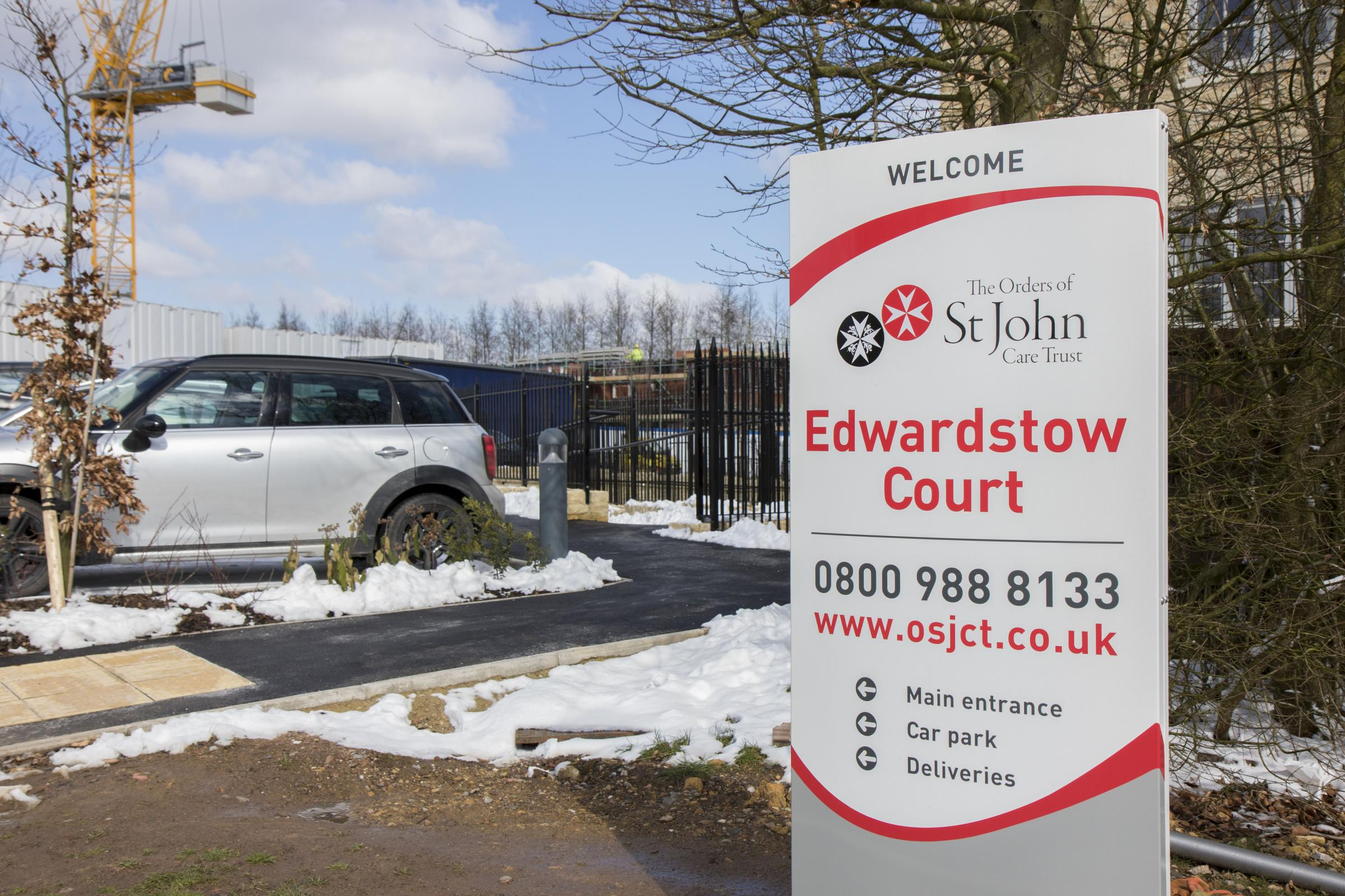 NEW: Edwardstow Court is due to open soon. Photo: Paul Jackson