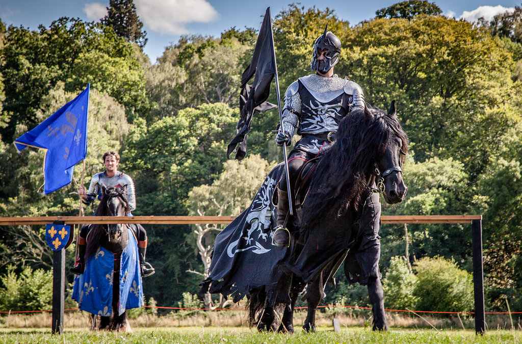 BATTLE: Easter Jousting returns to Sudeley Castle