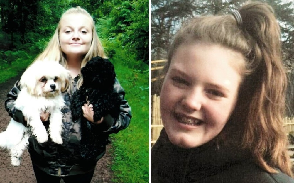 MISSING: Sommer Boyce (left) and Alice Laws have both gone missing from Malvern