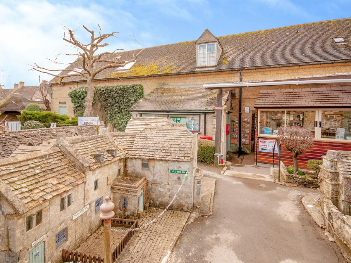 AVAILABLE:  Bourton Model Village and The Old New Inn are up for sale. Photo: Christie and Co