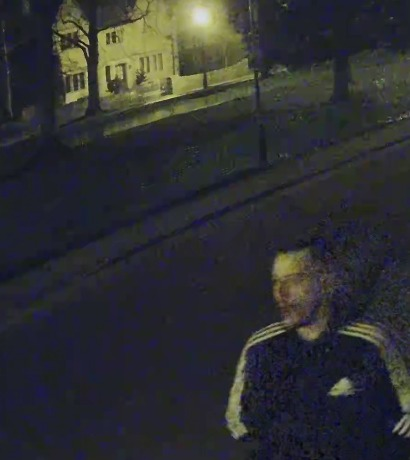 WANTED: Police would like to speak to this man about shop burglaries in Bourton