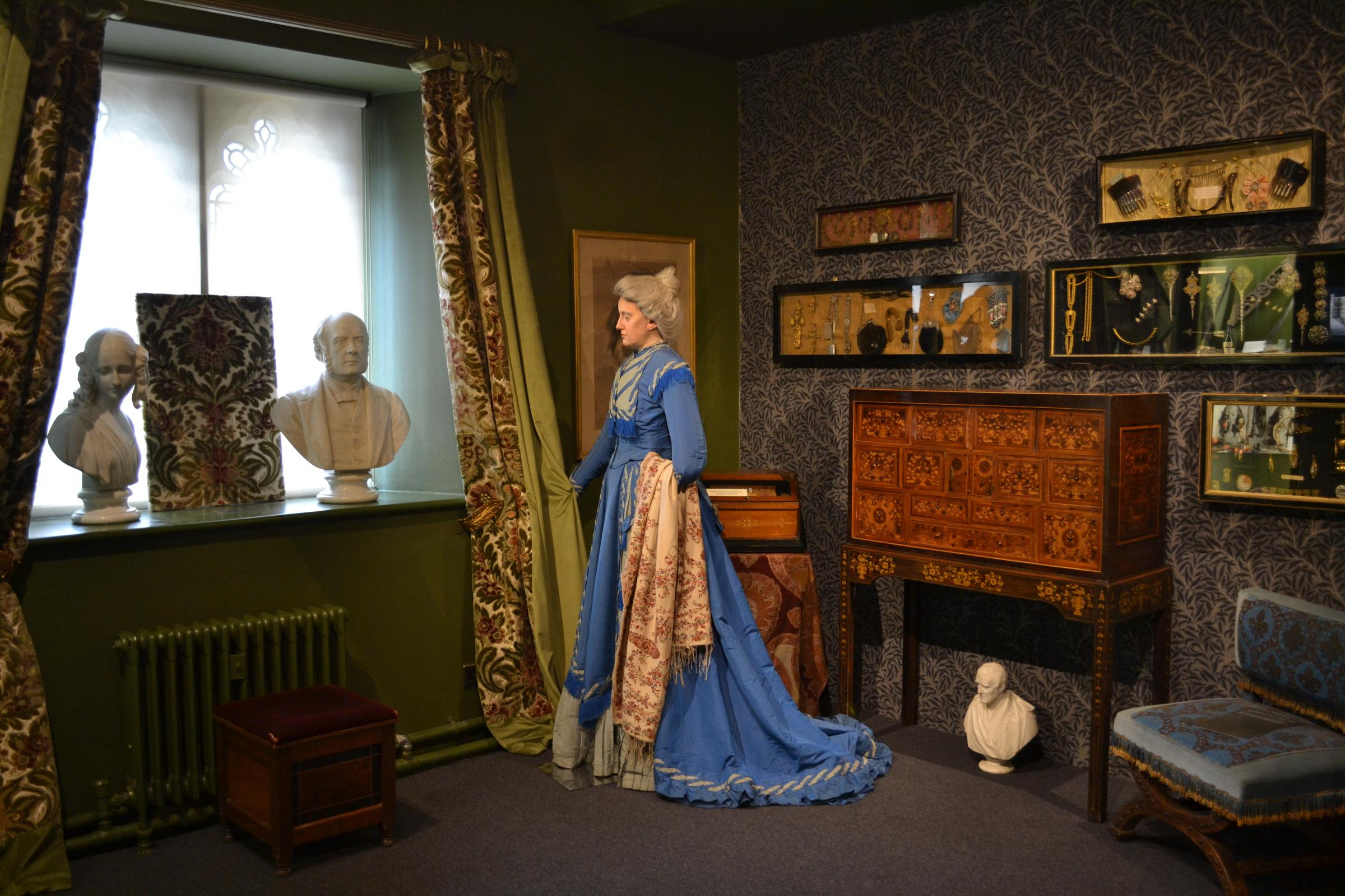 HISTORY: The Emma Dent room at Sudeley Castle's exhibition. Picture: Sudeley Castle