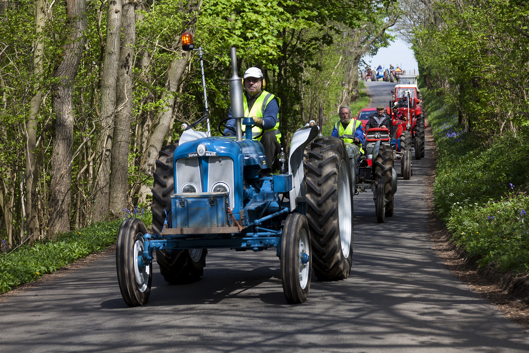 FUN: Preparations for the Bluebell Tractor Run