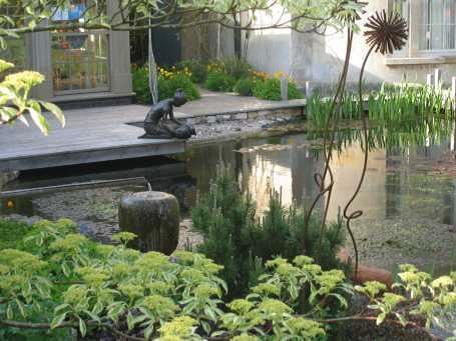 PRETTY: This garden will be open to the public