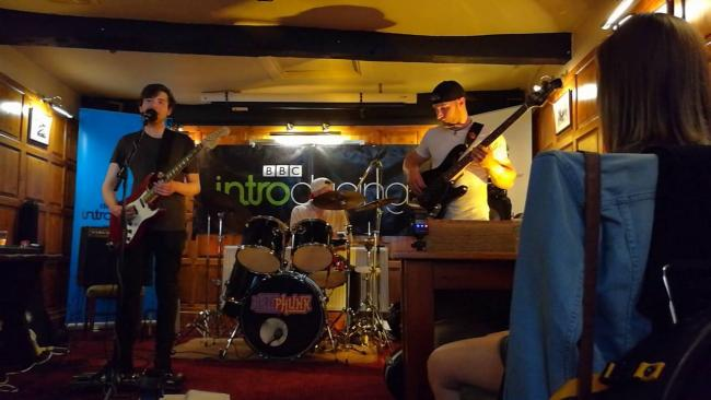 ROCKING: Artiphunk at the Upton Blues Festival