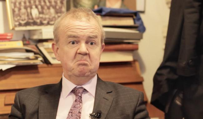 WRY: Ian Hislop finds messages in the past that  relate to the present day