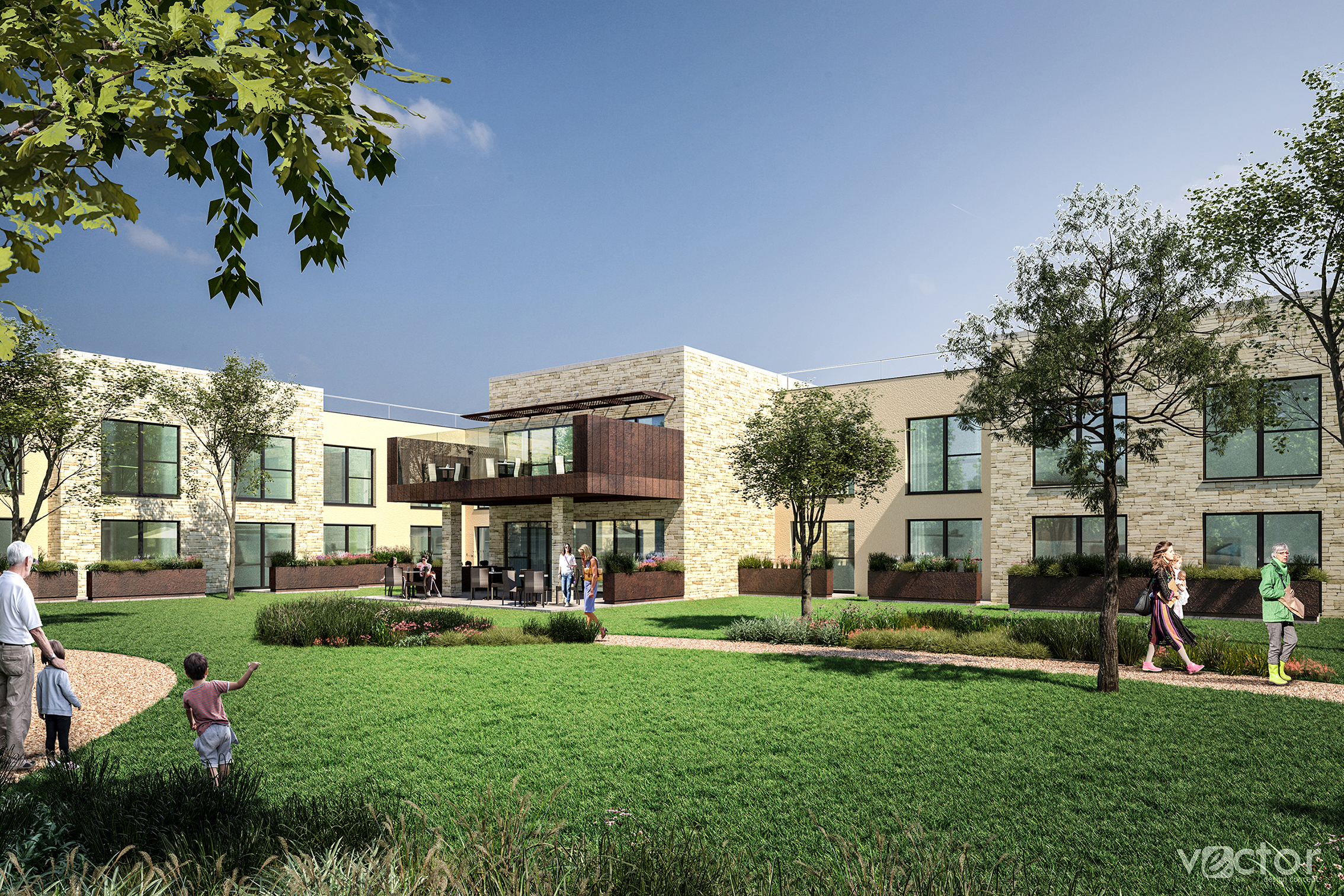 PLANS: An artist's impression of how the care home might look