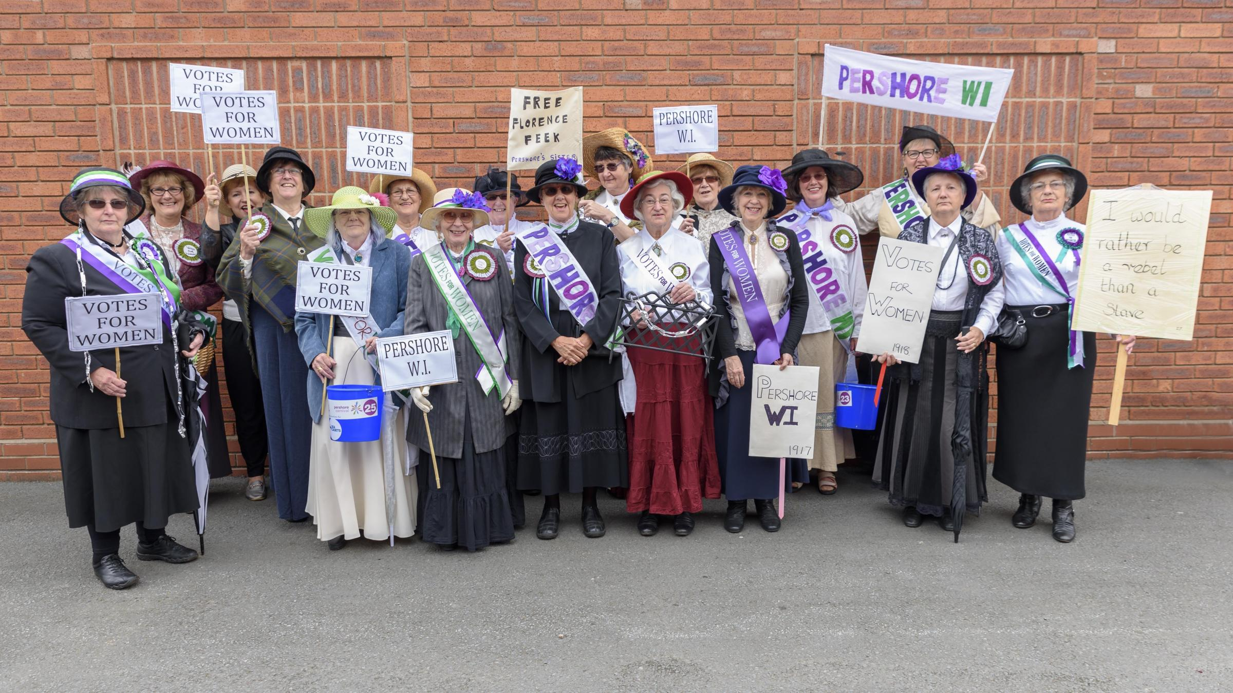 Votes for Women - Pershore WI