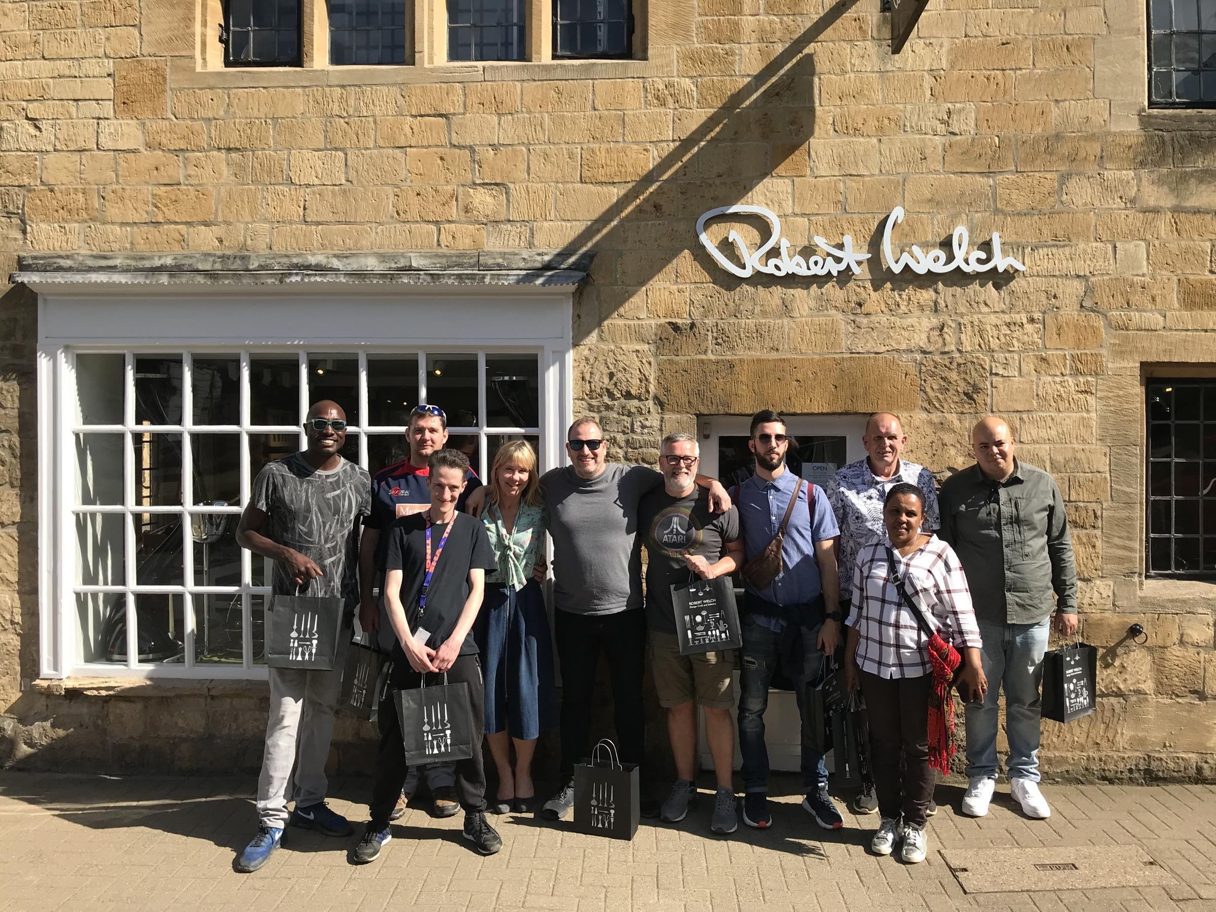 VISIT: Brigade Bistro visiting Robert Welch Desgins in Chipping Campden