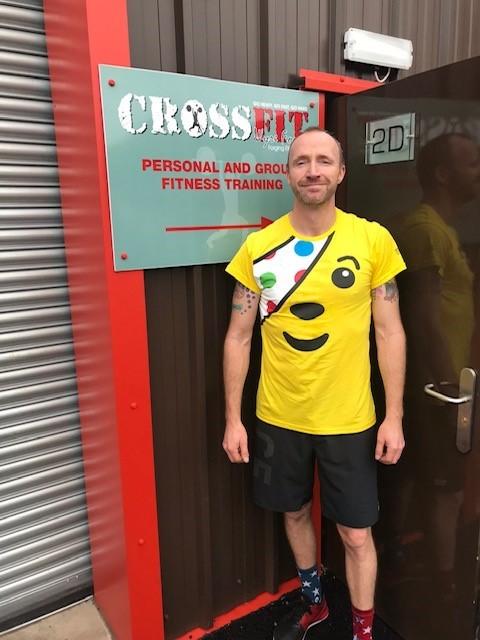 Bewdley CrossFit athlete sets Children in Need challenge