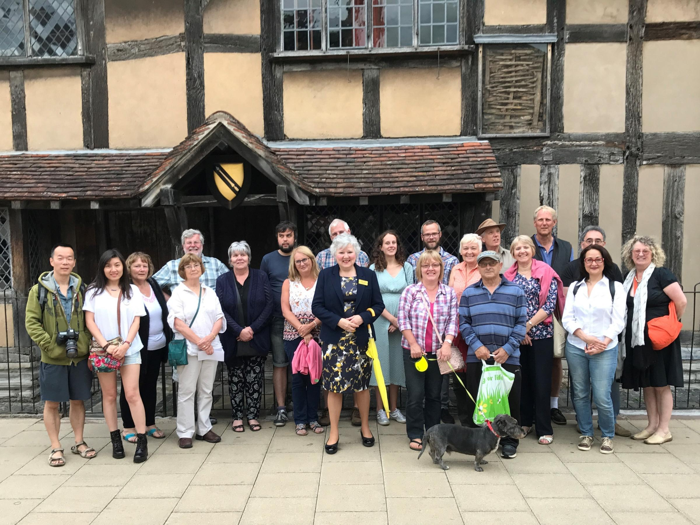 Daily guided walking tour in Shakespeare's Stratford upon Avon