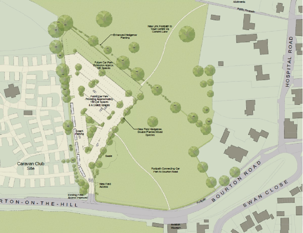 PLANS: Moreton in Marsh car park plans