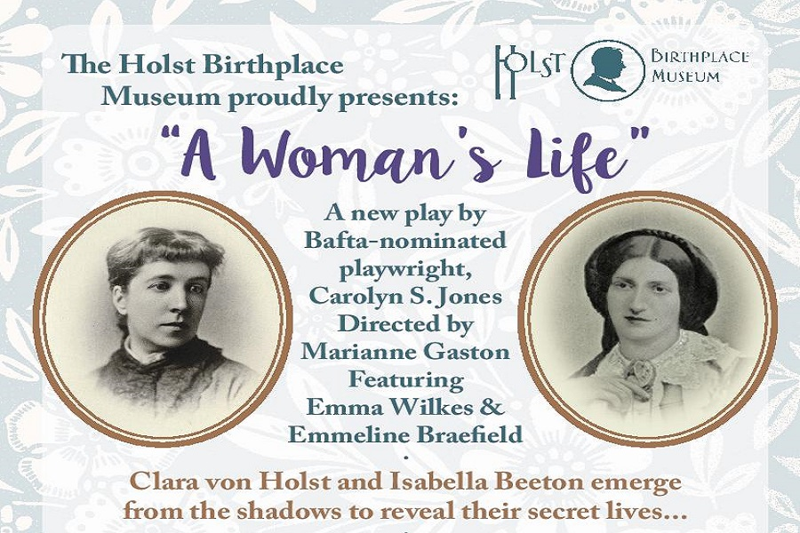 A Woman's Life:  a new play by BAFTA-nominated playwright Carolyn S Jones