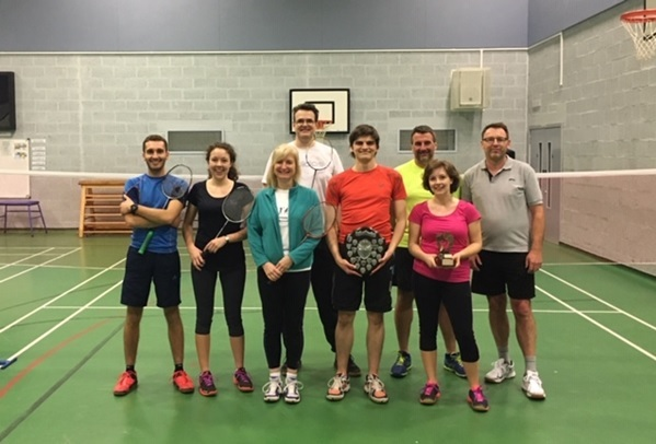 Blackminster Badminton Club members