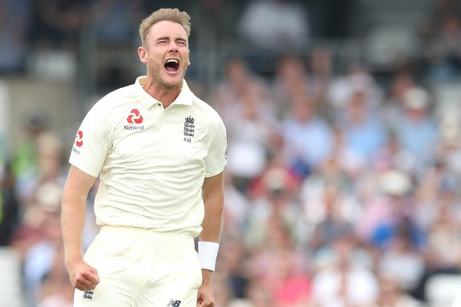Stuart Broad was in great form in the Caribbean