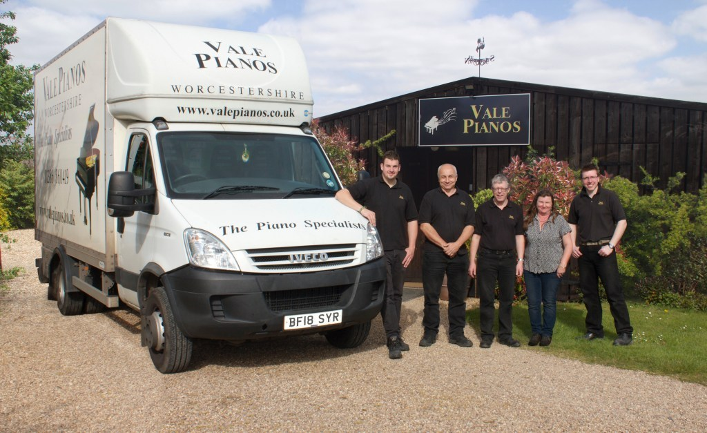 PIANOS: Linda and the team at Vale Pianos