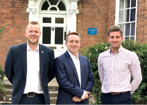 TEAM: Matt, Matthew and Jake from Willcox Matthews Recruitment