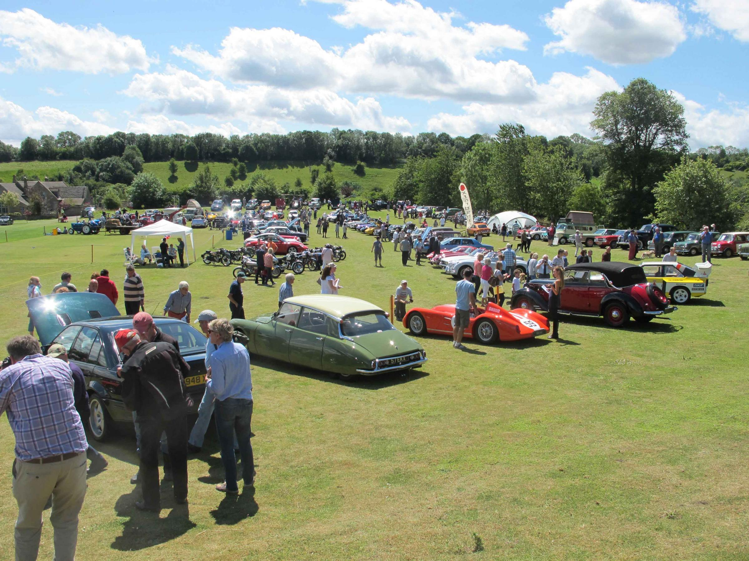 Naunton Classic and Vintage Transport Show and Fete