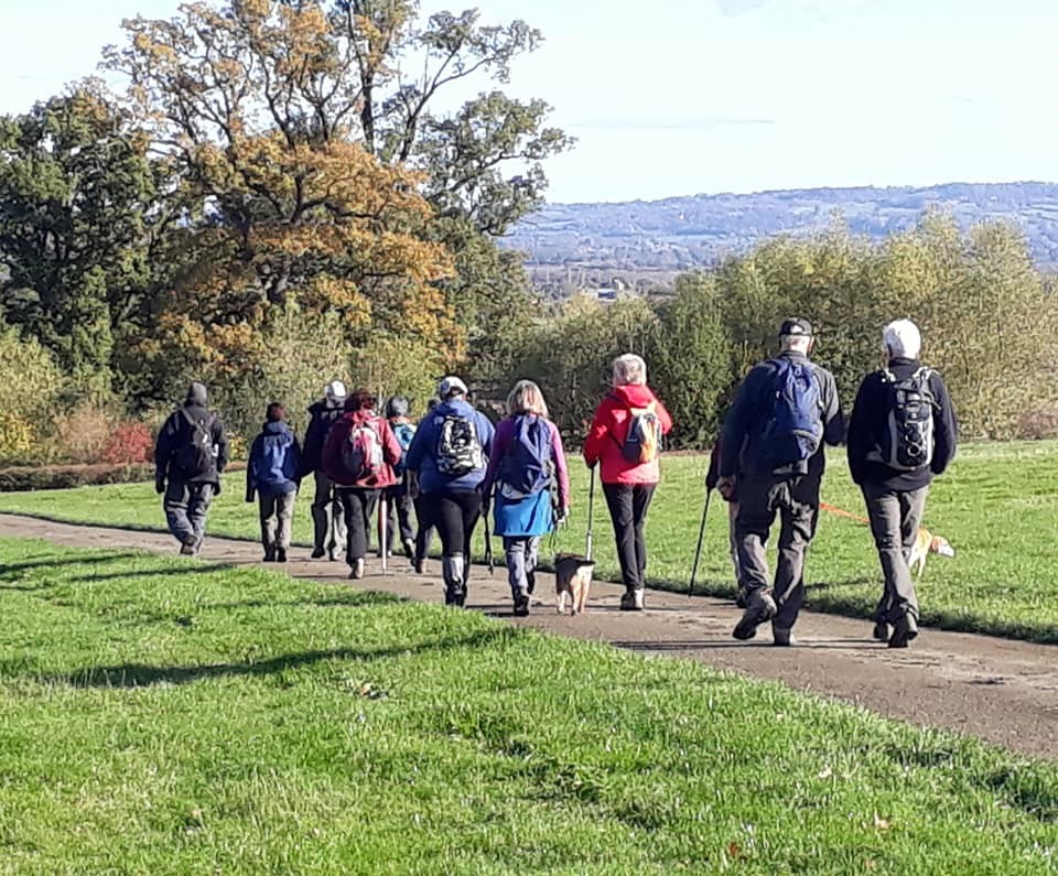 Eckington, Defford walk with Evesham Ramblers