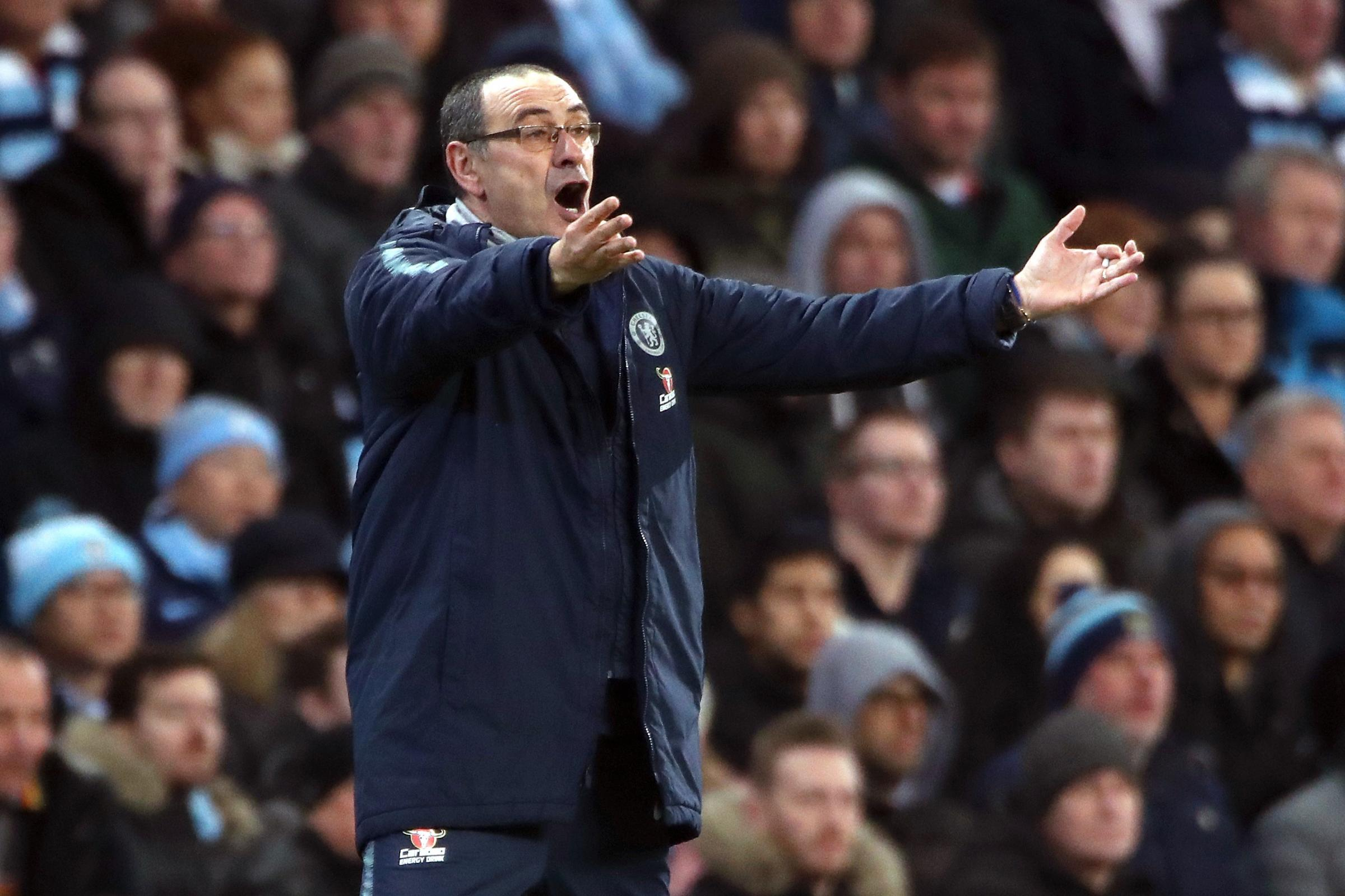 Maurizio Sarri's Chelsea have a poor away record in 2019