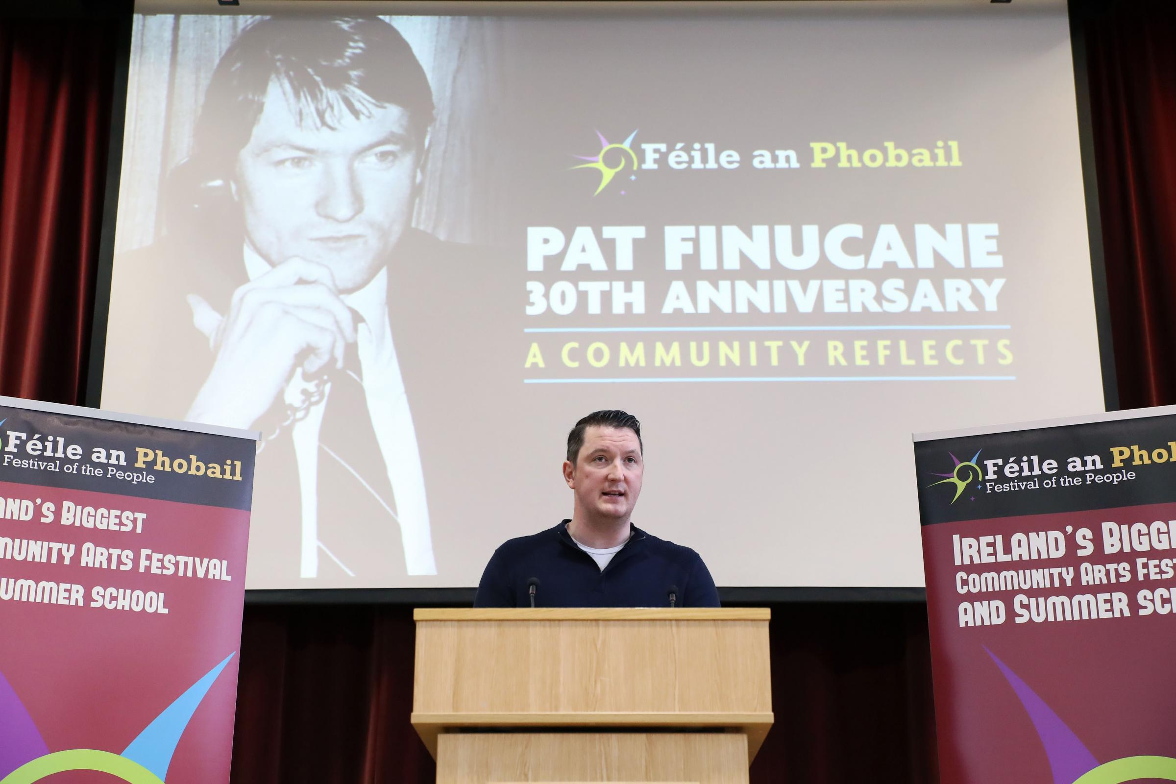 John Finucane, son of Pat