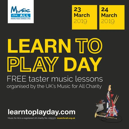 Learn to Play Day is coming to Birmingham