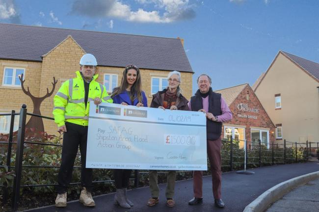 Shipston flood defence project gets boost from building firm