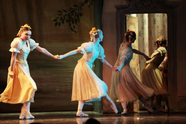 ENCHANTING: A scene from the ballet Coppelia