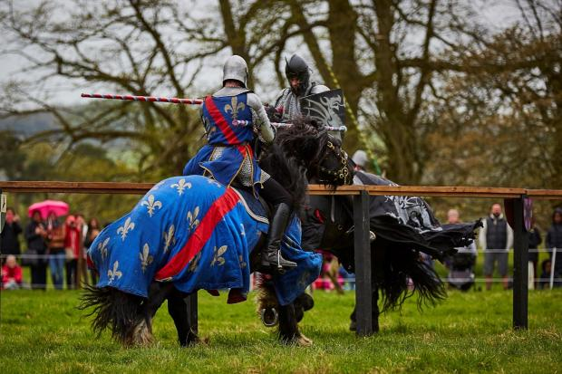 CASTLE: The two winners of the competition will be special guests at Sudeley castle's jousting