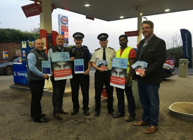 A new campaign gets underway in Ledbury to prevent petrol theft.